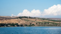 Mount of Beatitudes where Jesus gave the Sermon on the Mount.