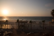 Sunset in Tel Aviv from the Dan Hotel