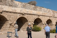 Caesarea Marítima, aquaducts built by Herod the Great around 20 BC