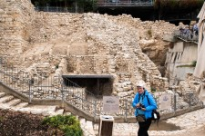 Digs at the City of David.