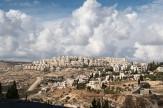 View from Herodium towards area around Bethlehem