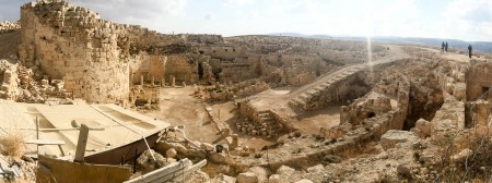 Fortress and Palace on the summit of Herodium
