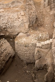 Oldest structure found in Jericho, from about 10,000 BC