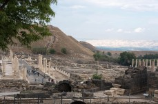 Roman ruins at Beit She'an