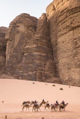 Bedouin Caravan in Wadi Rum