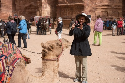 Phyllis connected with this camel